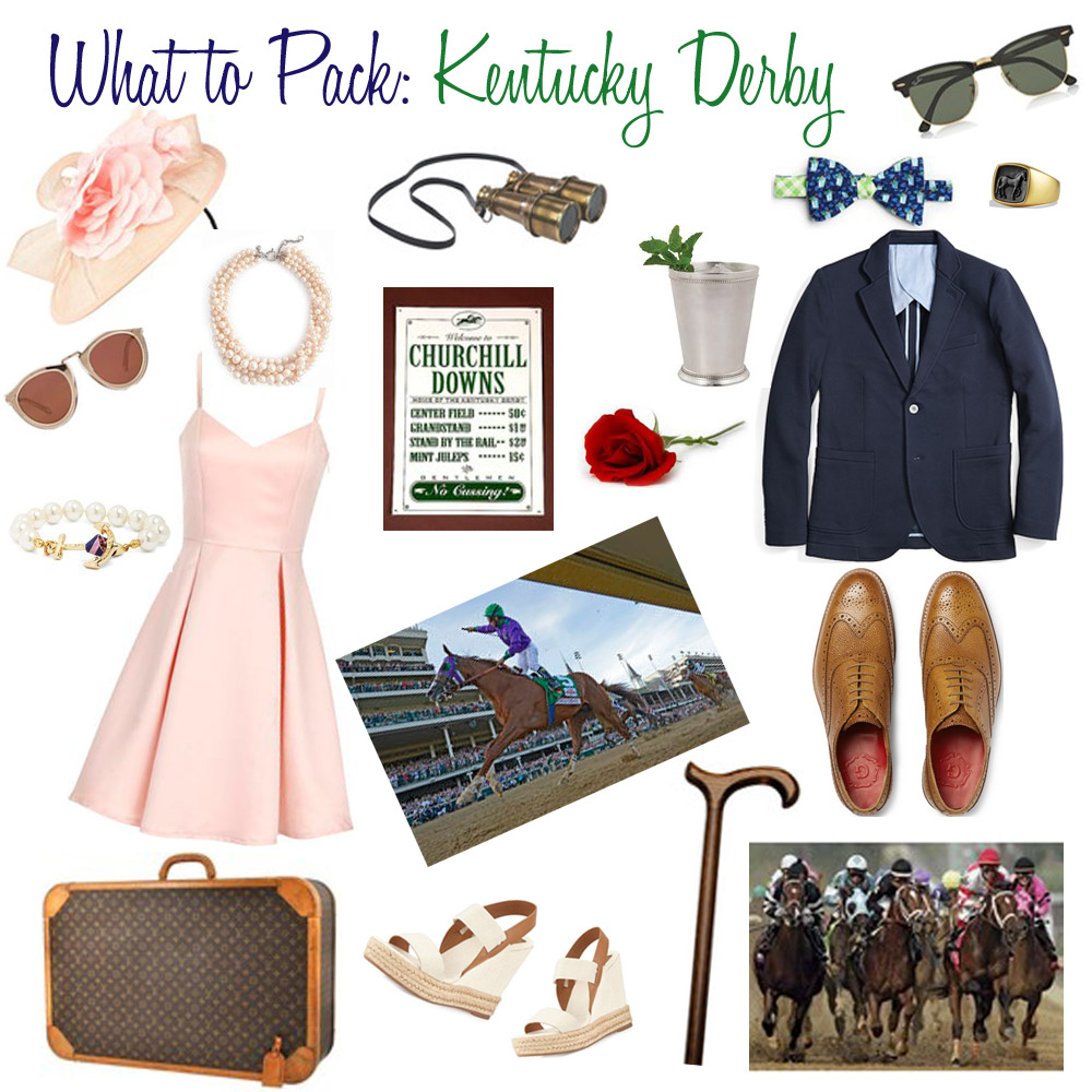 What to Pack: Kentucky Derby