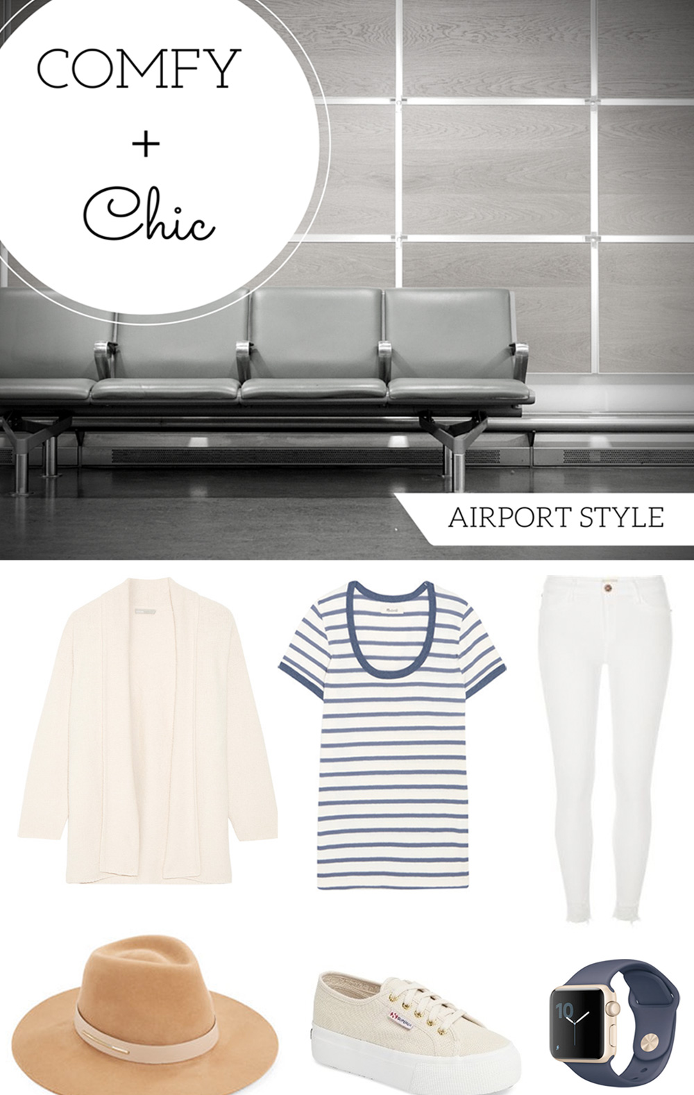 Airport Style – Comfy + Chic