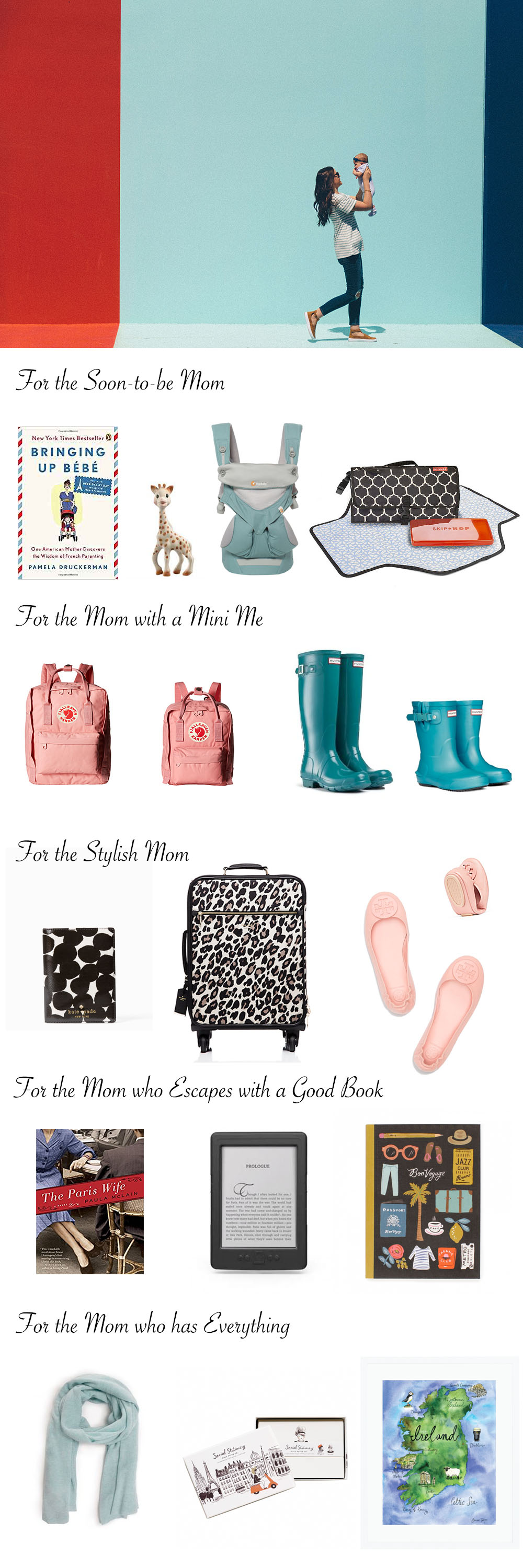 Mother's Day Gift Ideas – Travel Themed