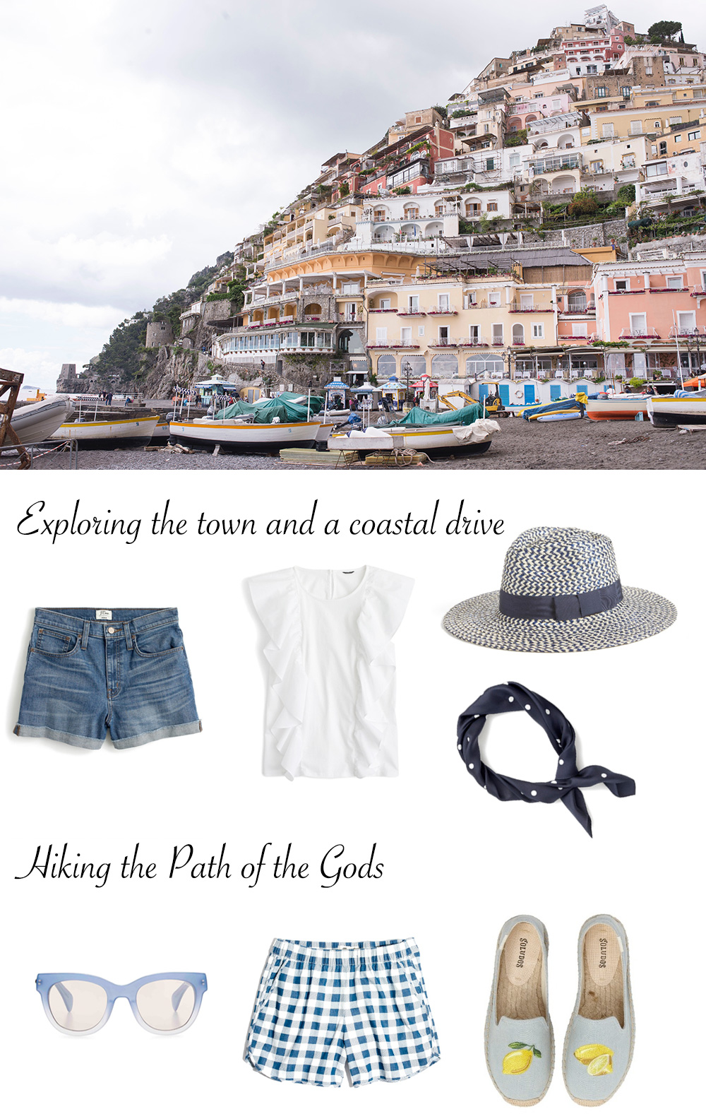 What to Pack for Positano, Italy