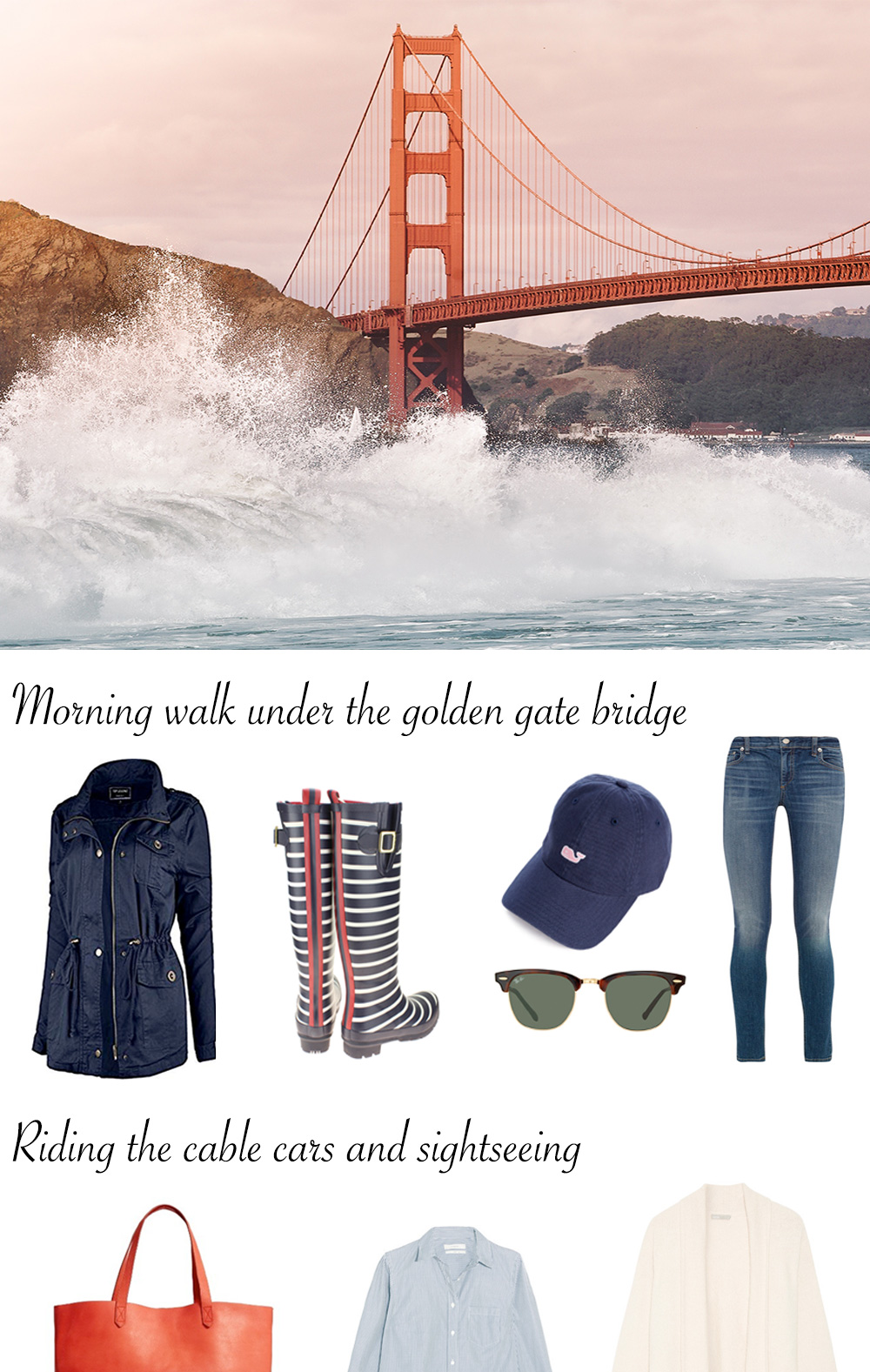 What to Pack for San Francisco