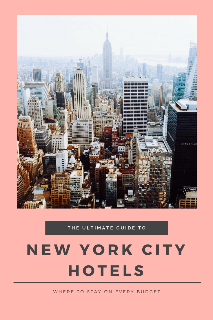 Where to Stay in New York – Hotels for Every Budget