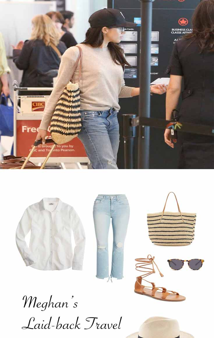 Airport Style – Meghan's Laid-back Travel Look