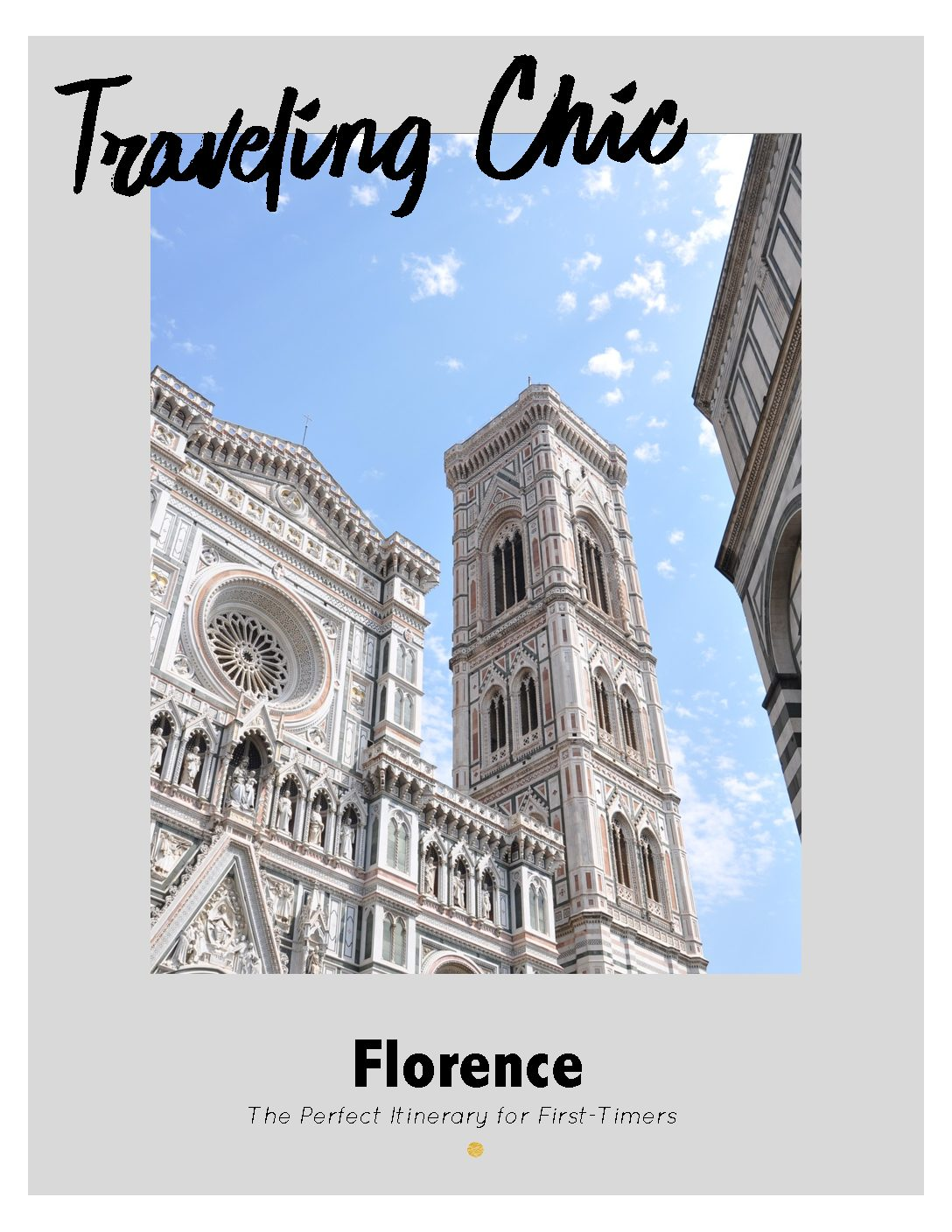 Florence Itinerary