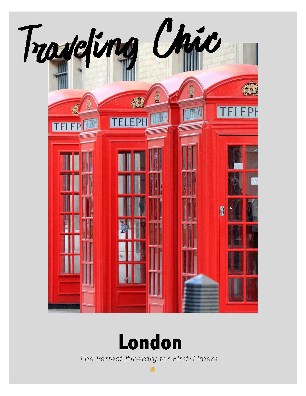 London Itinerary