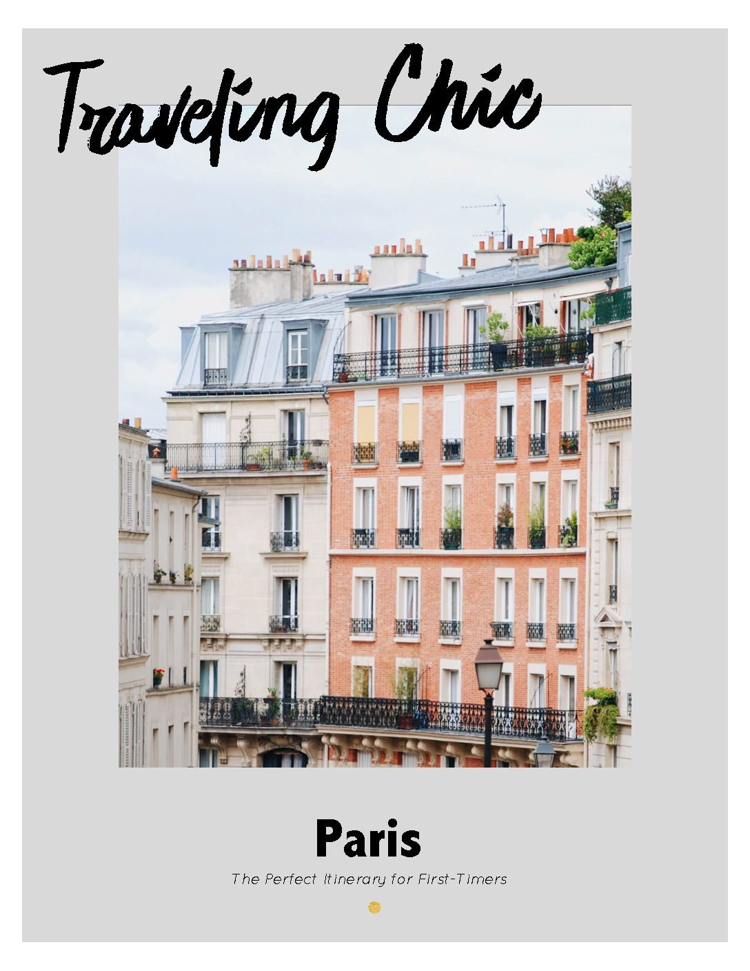 Paris Itinerary – Coming Soon