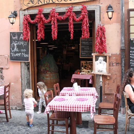 Rome Restaurant - Traveling Chic