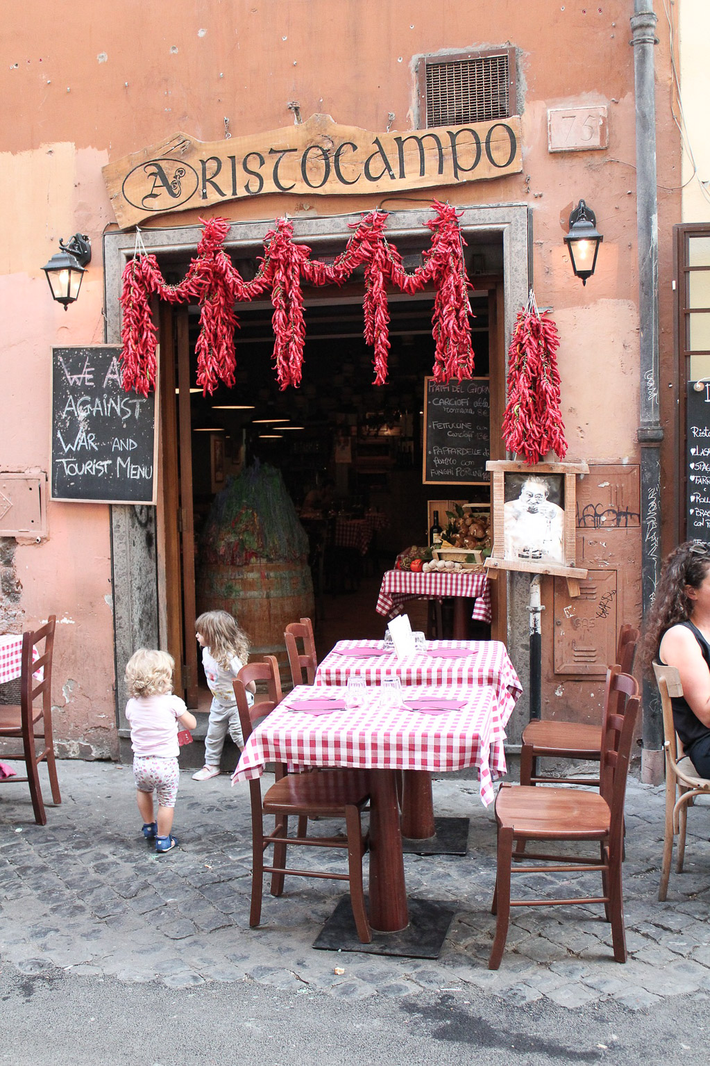 Rome Restaurant - Traveling Chic