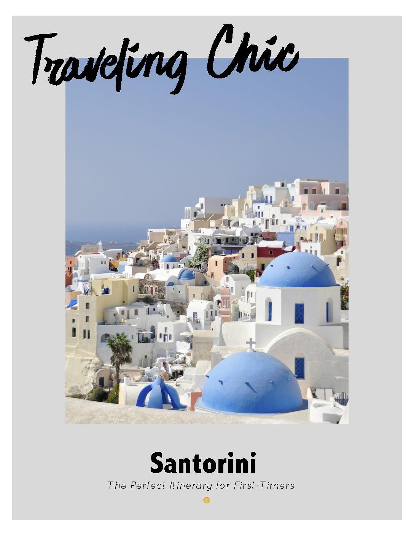 Santorini Itinerary – Coming Soon