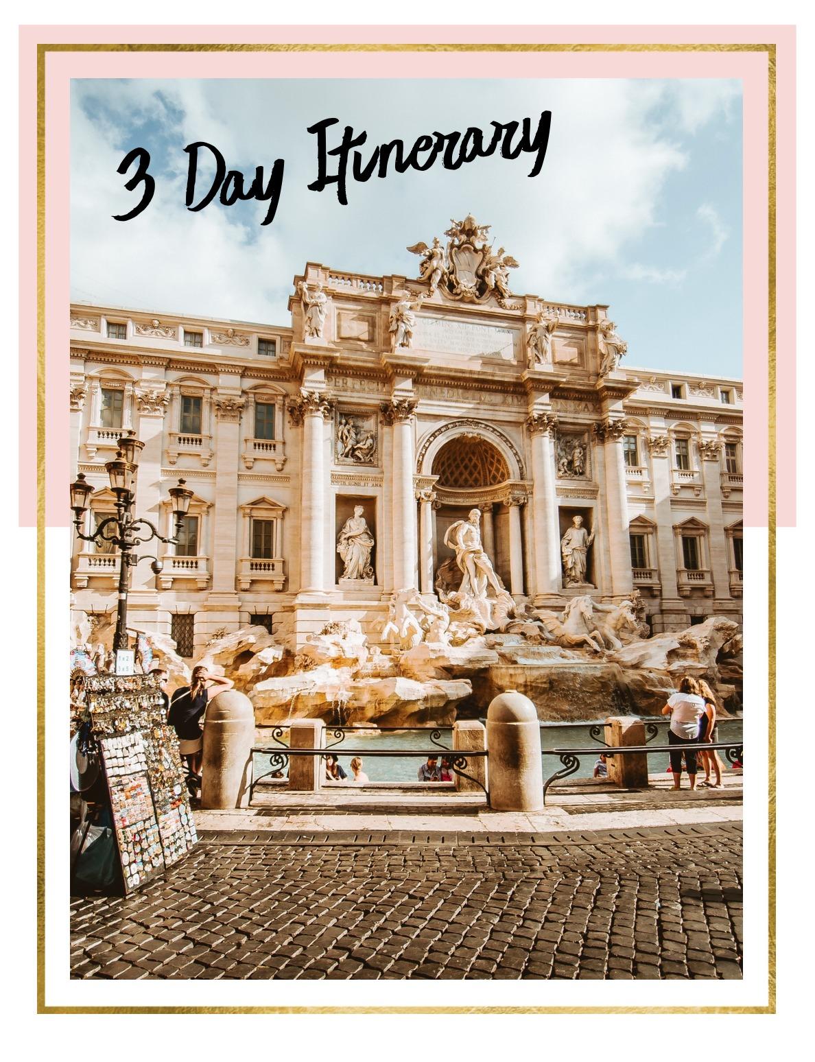 Rome, Italy Itinerary
