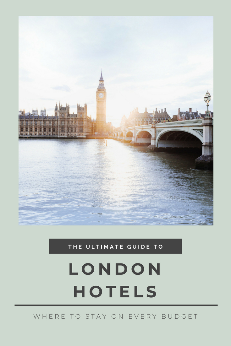 Where to Stay in London – Hotels for Every Budget
