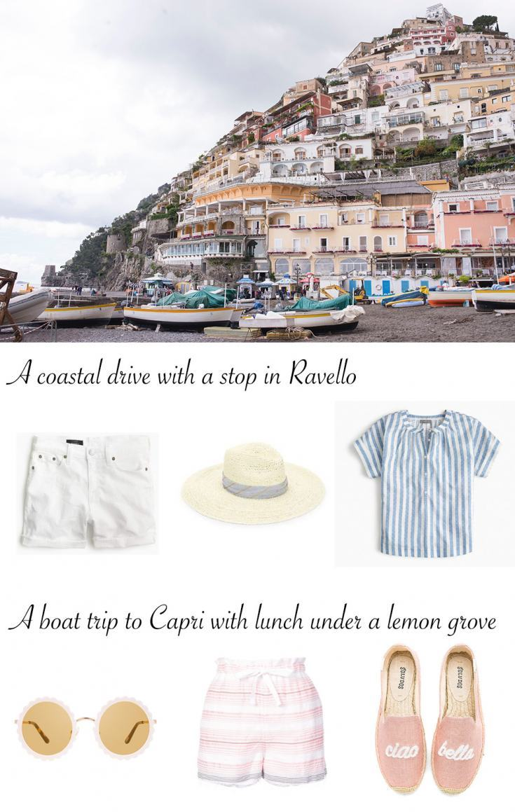 What to Pack for the Amalfi Coast